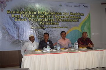 Sosialisasi SDM Disbudpar Aceh